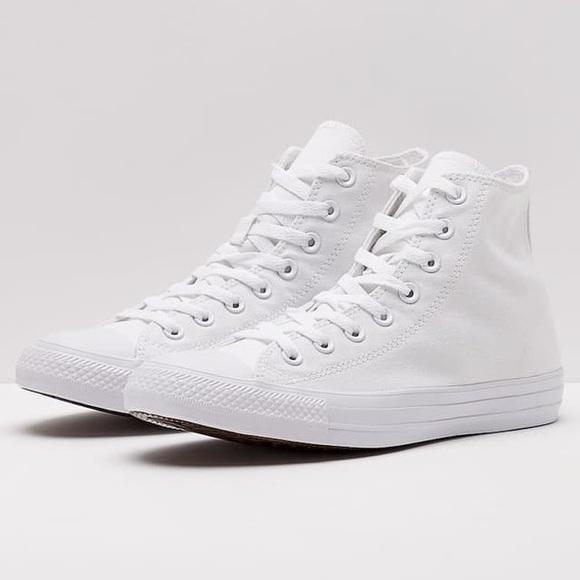 converse all white